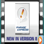 PhraseExpress Version 8, audio by Voice Over King