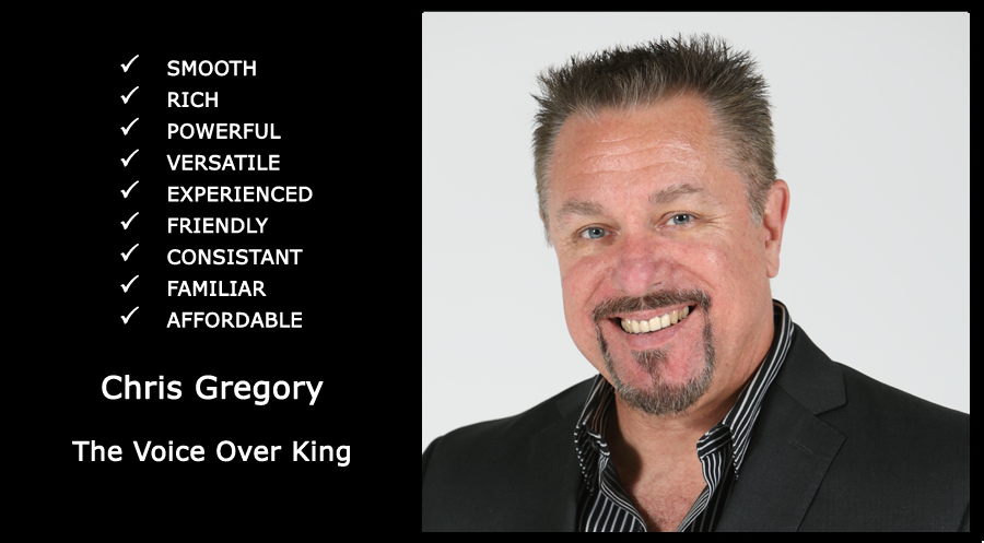 The Voice Over King – Chris Gregory
